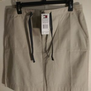 Tommy Hilfiger New Cotton Above knee Skirt
